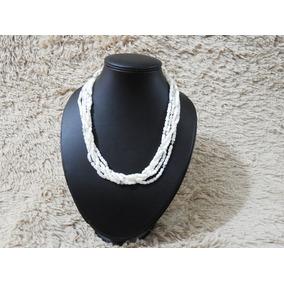 Collar De Nacar Y Plata 925