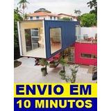 Projeto Manual Construção Casa Container E-book ( Moderno )
