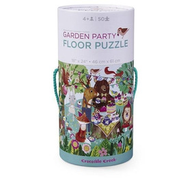 Rompecabezas Puzzle De Carton 50 Piezas Fiesta Jardin 40504