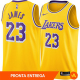 8a363d3806 Camisa Regata Nike Nba Los Angeles Lakers Nº23 Lebron James