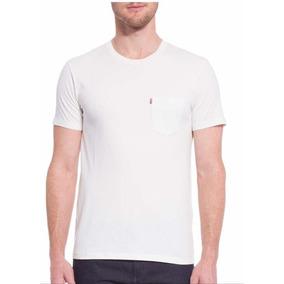 Camiseta Levis Com Bolso-100% Original 0a14bf01189