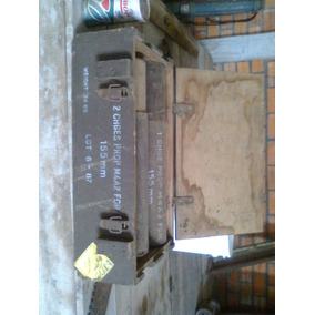 Caixa Cunhete Militar Canhão Obus155mm