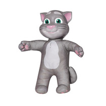 Boneco Gato Interativo Repete Fala Esperto Talking Tom 33cm