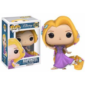 Disney Enrolados Rapunzel Vestido Boneca Pop Funko 10cm #223