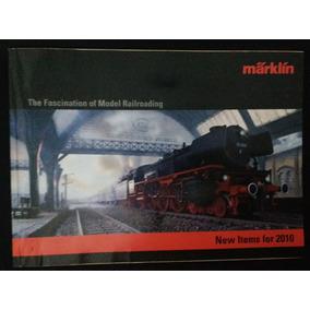 Lote 4 Catalogos Marklin 2009/2010/2011/2013