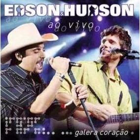 Cd Edson E Hudson - Galera Coração Ao Vivo (lacrado)