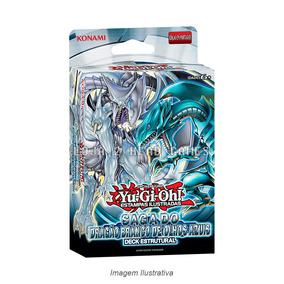 Yugioh! Deck Saga Do Dragão Branco De Olhos Azuis Original