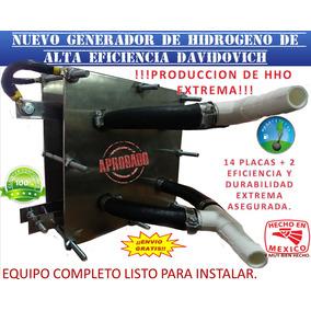 Generador Hho Hidrógeno Carburador O Inyección Electrónica.