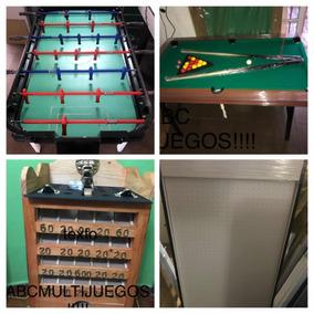 Metegol De Aluminio+ Mini Pool+ Tejo+sapo Combo 25% Off!!!!!