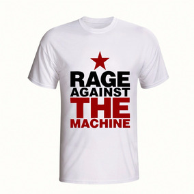 Camisa Rage Against The Machine Camiseta Rap Rock Banda