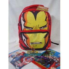 Mochila Iron Man Con Accesorios Marca Ruz Original
