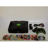 Xbox Clasico Completo 1control 10 Juegos, Emulador