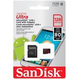 Micro Sd Sandisk 128gb Última Generación 2017
