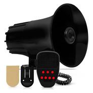 Sirene Buzina Megafone 7 Tons Com Microfone