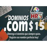 Hosting, Dominios .com Paginas Web
