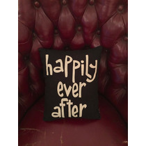 Almohadon. Happily Ever After.