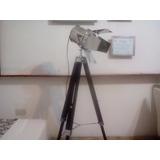 Lampara Velador Spot Set Film . Pie Tripode Regulable