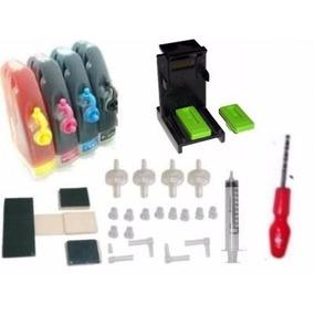 Bulk Ink Para Impressora Multifuncional Hp Psc 1210 P/ 21 22