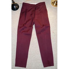 Pantalon De Oficina Traje Vestir Uterque Talla 26