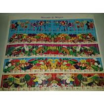 Planilla De Timbres Mercado De México 1999 / 2000