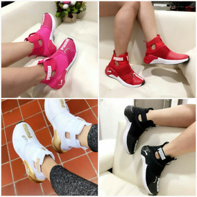 Zapatos Bota Botines Puma Nike New De Dama Colombianos