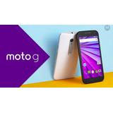 Motorola Motog 3ra Generacion 4glte 4gb Nuevo Libre
