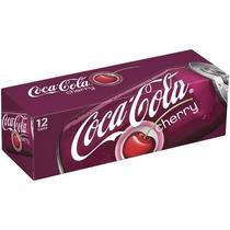 Coca Cola Cherry Sabor Cereja Caixa 12 Latas 355ml Coke Eua