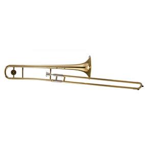Trombone De Vara Laqueado Michael Em Sí Bemol Wtbm35 Com Cas