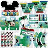 Kit Imprimible Disney La Casa De Mickey 2x1