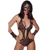 Disfraces Eróticos Lencería Sexy Tigrecita Art 500
