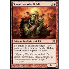 Carta De Magic The Gathering - Squee, Nabobo Goblin