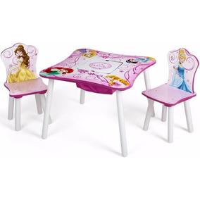 Mesa Con Dos Sillas Infantil Disney Princess