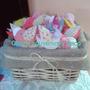 Souvenirs Pajaritos De Tela Bautismo Nacimiento Baby Showers