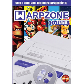 Revista Warpzone 101 Games Super Nintendo Novo Frete R$ 10