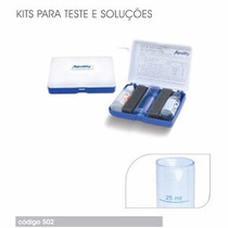 Kit Teste Para Medir A Alcalinidade De Piscinas!