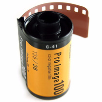 Rollo Película 35mm Color 36 Exp Negativo Profesional Iso100