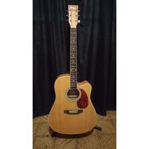 Guitarra Acustica Parquer Con Corte