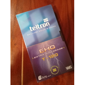 Video Cassettes Vhs Teltron Sellados Nuevos