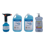 Kit Sanitizante Incl Pulverizador Electric,sanitizante Y Gel