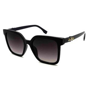 69175799d9ae6 Óculos De Sol Feminino Quadrado Vintage Uv400 Pronta Entrega ...
