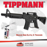 Marcador Paintball Tippmann Bravo One Elite Egrip Kit Top!!!