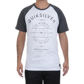 Camiseta Masculina Quiksilver Especial Star Raglan Arte