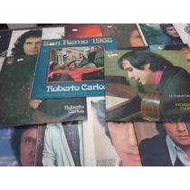 Coleção Roberto Carlos 24 Disco De Vinil Em Bom Estado!!!