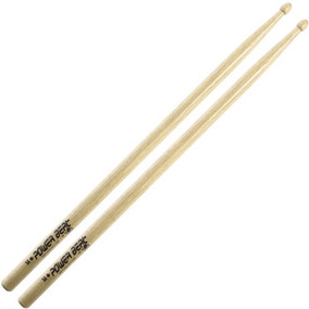 Baqueta Power Beat 5a Comprida Hickory Ponta Madeira