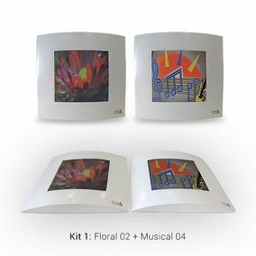 Caixa Decorativa Som Ambiente 60w Pmpo (par) Design & Music