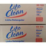 Marmitex Retangular 500ml Alumínio C/100 Life Clean