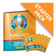 Album Uefa Euro 2020 + 5 Envelope + 1 Bola Panini Original