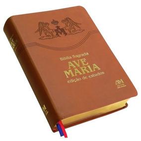 Biblia Sagrada Edicao De Estudos - Ave Maria