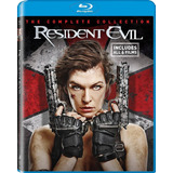Coleccion Bluray Resident Evil Original 6 Peliculas Español
