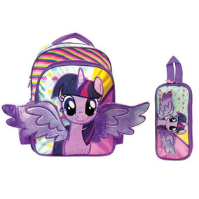 Mochila Preescolar My Little Pony Twilight Sparkle Urbania
